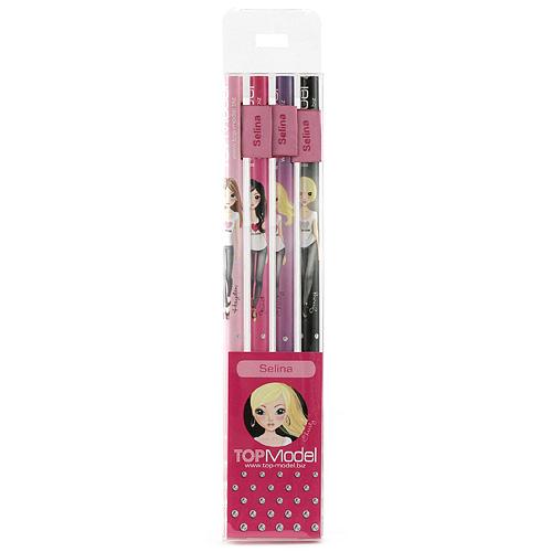 Tužky Top Model Tužky s vlaječkou Selina, Top Model