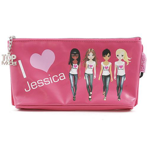 Školní penál taštička Top Model ASST Jessica, Top Model