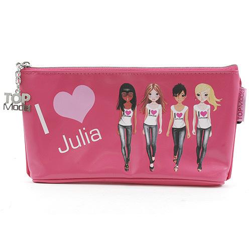 Školní penál taštička Top Model ASST Julia, Top Model