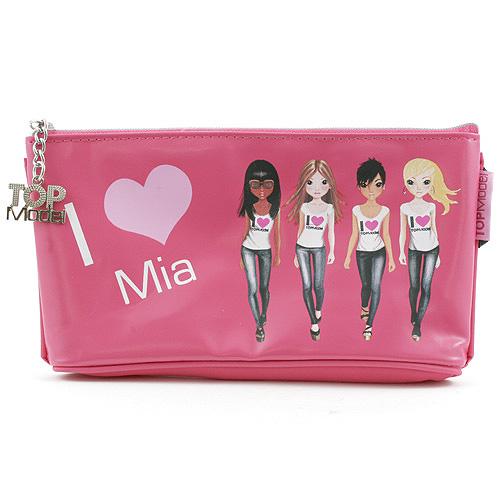 Školní penál taštička Top Model ASST Mia, Top Model