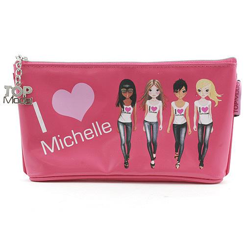 Školní penál taštička Top Model ASST Michelle, Top Model