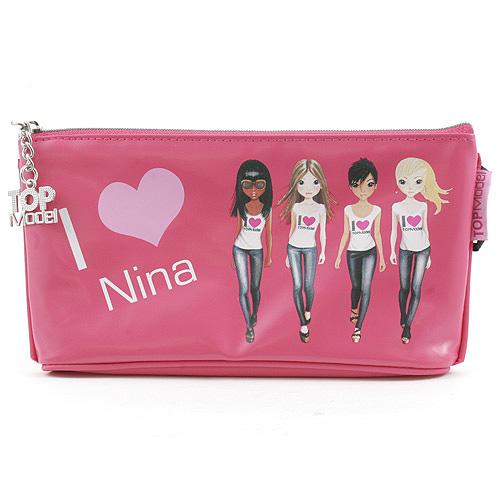 Školní penál taštička Top Model Nina, Top Model