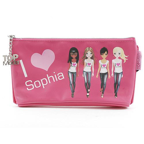 Školní penál taštička Top Model ASST Sophia, Top Model