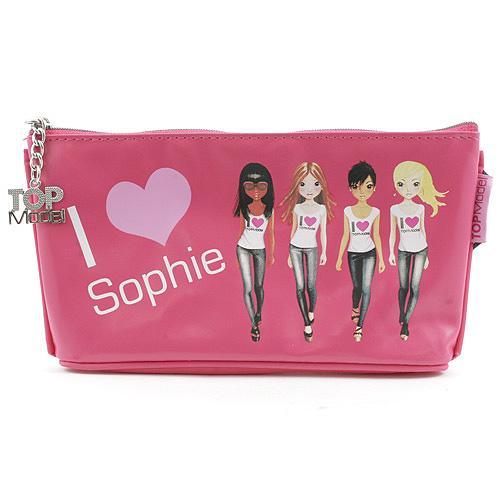 Školní penál taštička Top Model ASST Sophie, Top Model