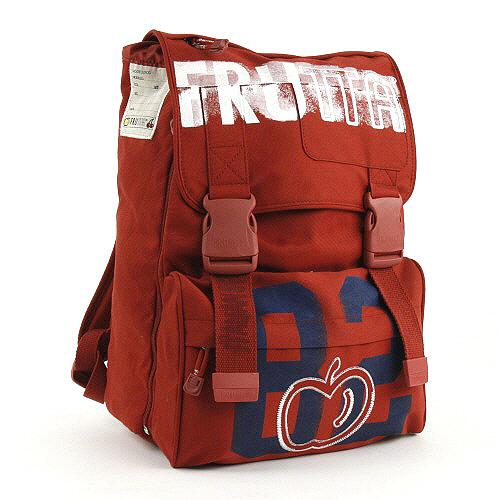 Školní batoh Frutta na přezky 82 červená