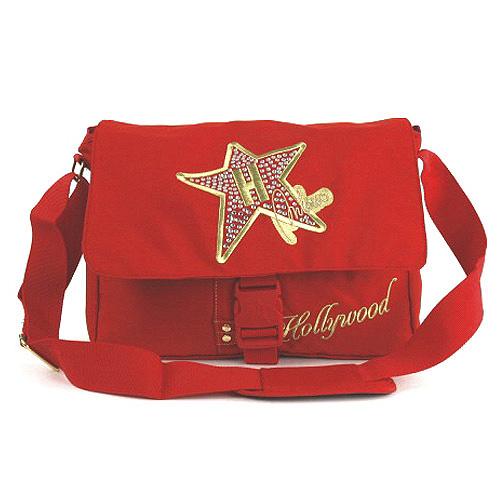 Taška přes rameno Hollywood Star Taška přes rameno na klip červená
