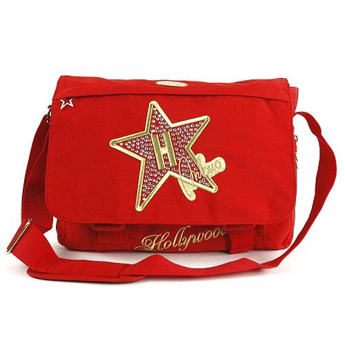 Taška přes rameno Hollywood Star Taška přes rameno červená
