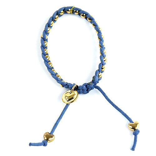 Náramek kuličky Top Model modrá, 038311