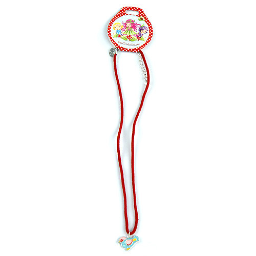 Náhrdelník Trixibelles s přívěškem červená, 038352