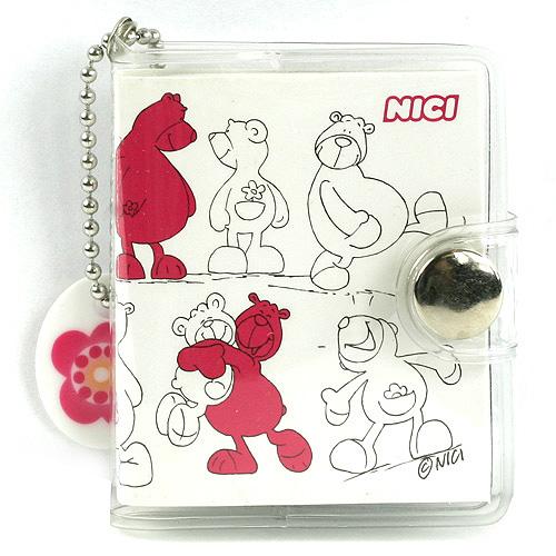 Minibloček Nici Minibloček medvídci růžová