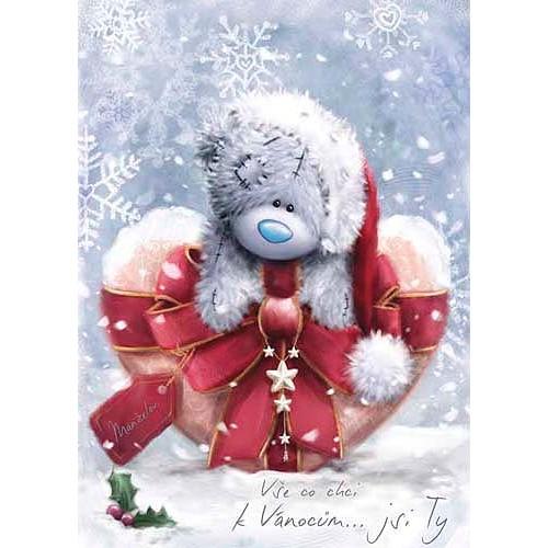 Blahopřání  Me to You Vše co chci k Vánocům...