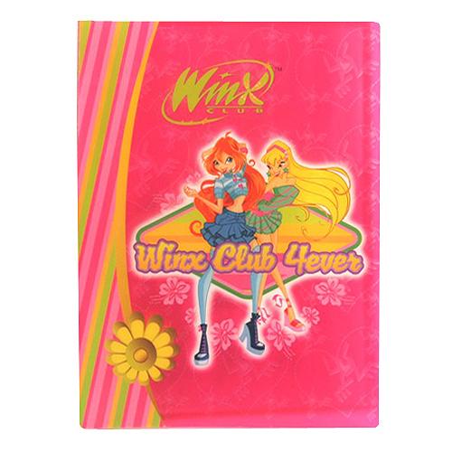 Desky A4 Winx Club Desky na dokumenty A4 30 kapes WinX 4ever Bloom&Stella růžov