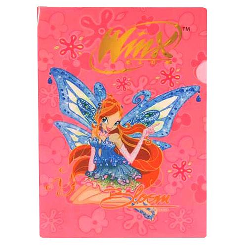 Desky A4 Winx Club Desky A4 Bloom s křídly světle růžová
