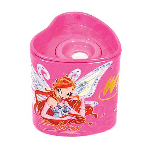 Ořezávátko Winx Club Ořezávátko srdce Bloom&Stella s křídly růžová