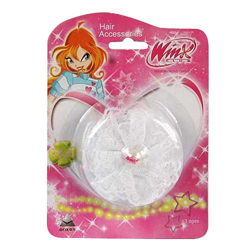 Sponka do vlasů Winx Club Sponka do vlasů s perlou WinX bílá