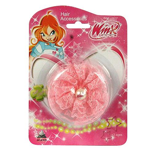 Sponka do vlasů Winx Club Sponka do vlasů s perlou WinX světle růžová