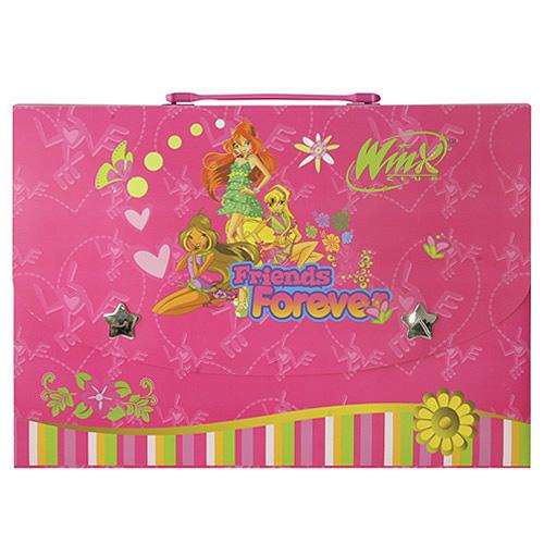 Obal na dokumenty Winx Club Obal na dokumenty L Bloom&Stella&Flora Friends 4ever