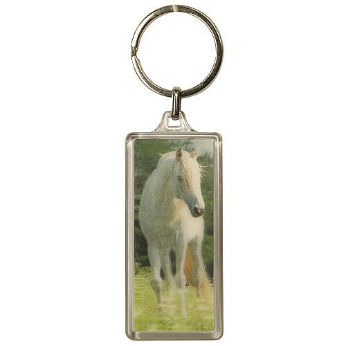 Klíčenka 3D Horses Dreams bílý kůň