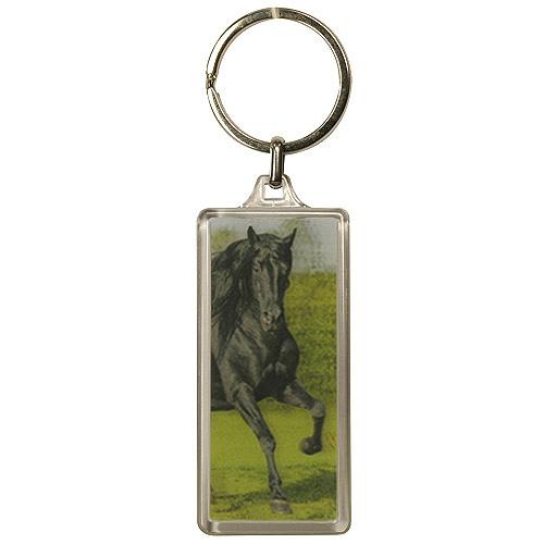 Klíčenka 3D Horses Dreams černý kůň