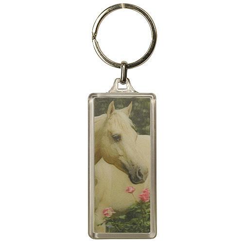 Klíčenka 3D Horses Dreams kůň a růže