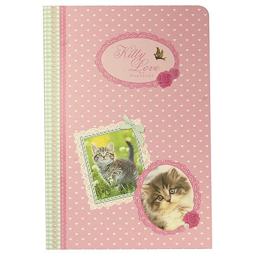 Dopisní souprava Kitty & Doggy Love Dopisní souprava Kitty Love růžová