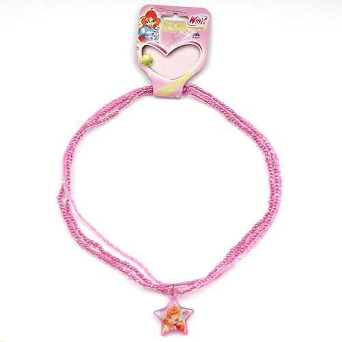 Náhrdelník Winx Club Náhrdelník 06 Bloom růžová