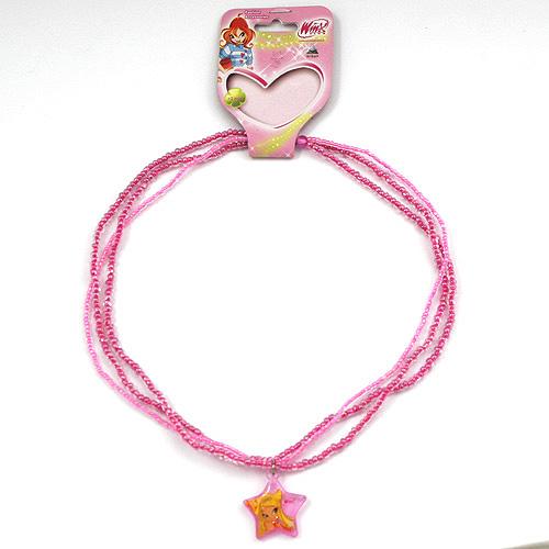 Náhrdelník Winx Club Náhrdelník 06 Stella růžová