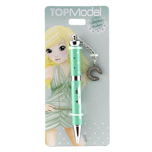 Kuličkové pero Top Model ASST Kuličkové pero s písmenkem, C