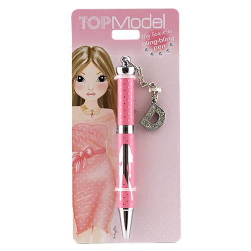 Kuličkové pero Top Model ASST Kuličkové pero s písmenkem, D