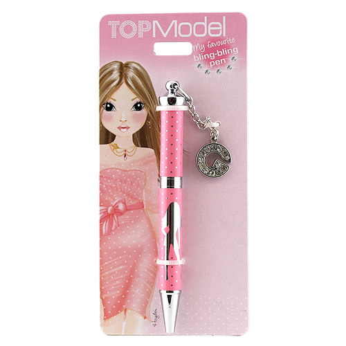 Kuličkové pero Top Model ASST Kuličkové pero s písmenkem, G