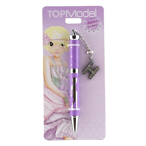 Kuličkové pero Top Model Kuličkové pero s písmenkem, H