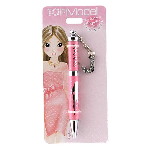 Kuličkové pero Top Model ASST Kuličkové pero s písmenkem, J