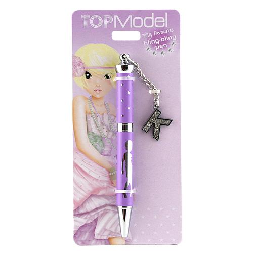 Kuličkové pero Top Model Kuličkové pero s písmenkem, K