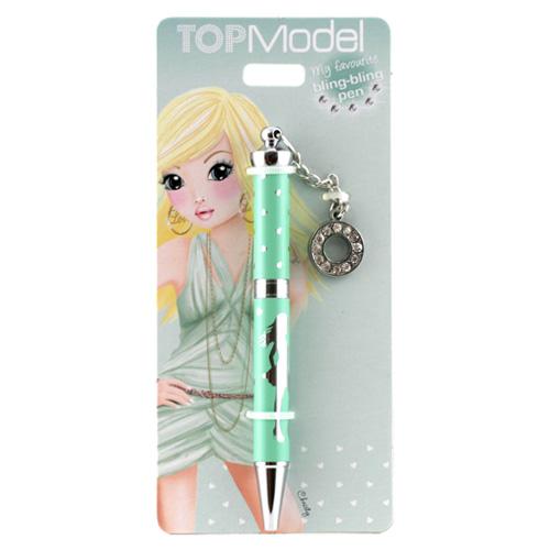 Kuličkové pero Top Model ASST Kuličkové pero s písmenkem, O