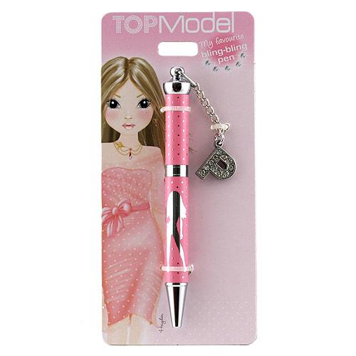 Kuličkové pero Top Model Kuličkové pero s písmenkem, P