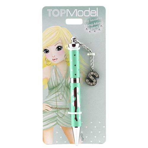 Kuličkové pero Top Model ASST Kuličkové pero s písmenkem, S