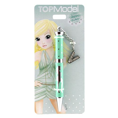 Kuličkové pero Top Model ASST Kuličkové pero s písmenkem, V
