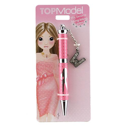 Kuličkové pero Top Model ASST Kuličkové pero s písmenkem, W