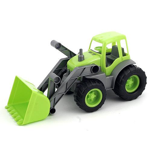 Buldozer Bino Buldozer zelená