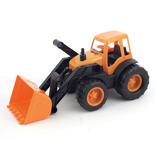 Buldozer Bino Buldozer oranžová