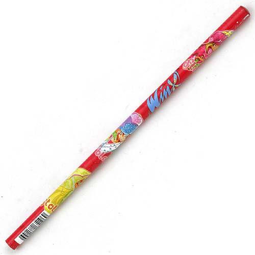 Tužka Winx Club Tužka kulatá WinX s deštníky červená
