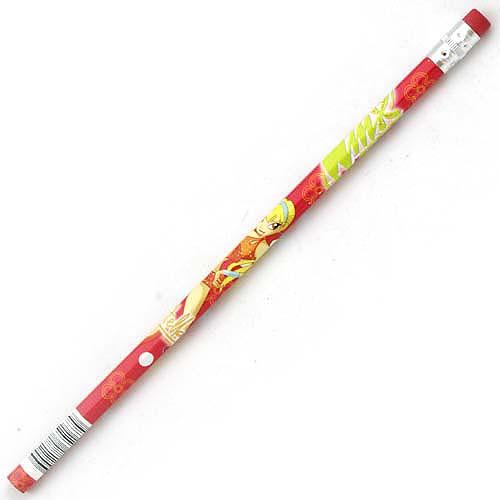 Tužka Winx Club Tužka s gumou Stella červená