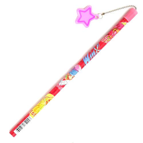 Tužka Winx Club Tužka s hvězdičkou Winx s deštníky červená