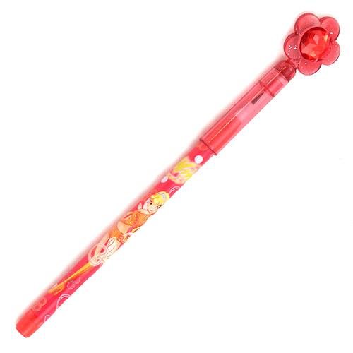 Tužka posunovací Winx Club Tužka s drahokamem Stella červená
