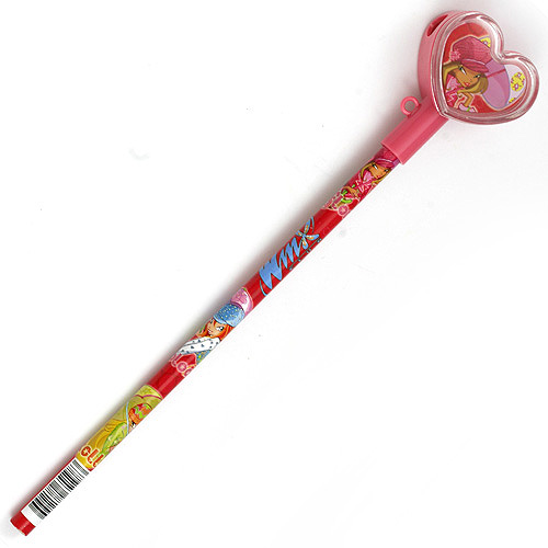 Tužka Winx Club Tužka s ořezávatkem ve tvaru srdce Flora s deštníkem