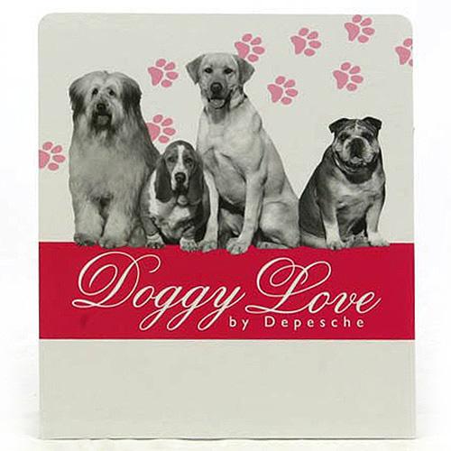 Banner Doggy Love Banner na stojánek