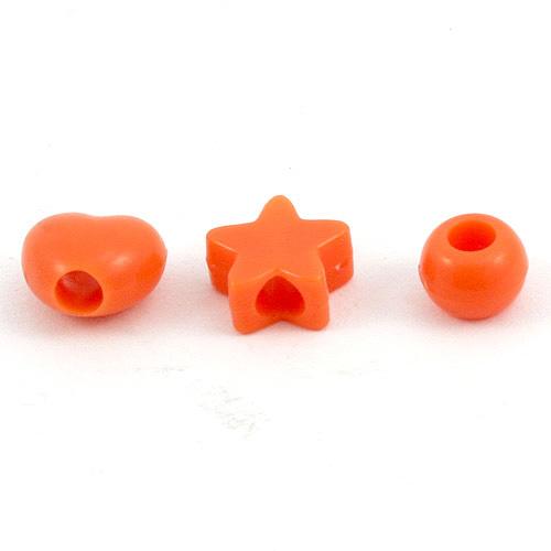 Diddl & Friends Písmenkové kostky Diddl Písmenkové kostky  Diddl  tretky - koncovky oranžová