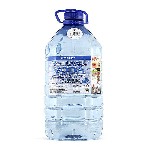 Spotřeba Destilovaná voda 5L