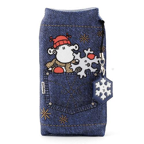 Ponožka na mobil Sheepworld Ponožka na mobil s přívěskem Bluewool, Sheepworld