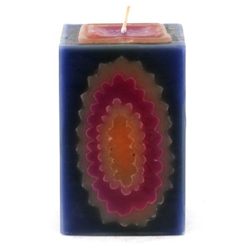 Svíčka Sunchi 6484 Rainbow modrá vanilka